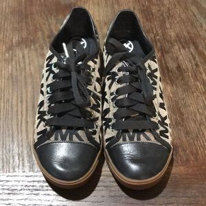 Michael Kors Black and Grey Lace Up shoe